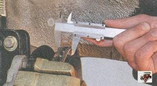 проверка толщины тормозного диска лада приора ваз 2170