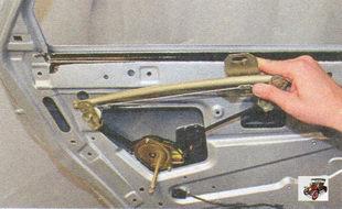 снятие стеклоподъемника задней двери