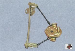 механизм стеклоподъемника задней двери