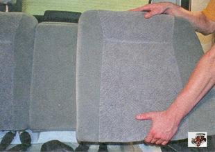 спинка заднего сиденья