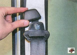 декоративная накладка ремня безопасности