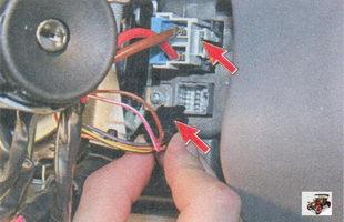 разъемы жгута проводов электроусилителя рулевого управления