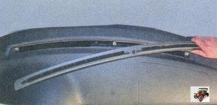дефлектор обдува ветрового стекла