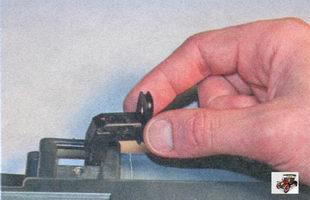 выключатель подсветки вещевого ящика (бардачка)