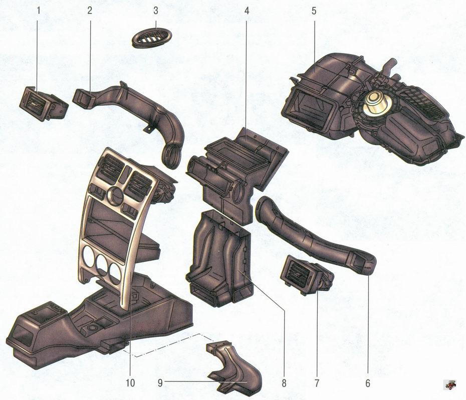 схема отопления и вентиляции