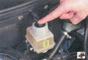 датчик сигнальной лампы аварийного состояния тормозной системы лада приора ваз 2170