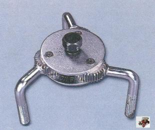 специальный ключ для снятия масляного фильтра