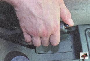 рычаг стояночного тормоза (ручник) лада приора ваз 2170