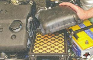 крышка воздушного фильтра лада приора ваз 2170