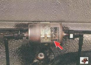порядок установки топливного фильтра лада приора ваз 2170