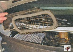 крышка фильтра вентиляции и отопления салона