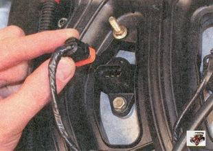 разъем жгута проводов модуля зажигани