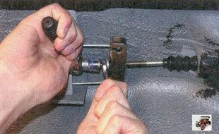 регулировка привода стояночного тормоза лада приора ваз 2170