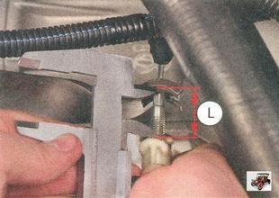 регулировка привода выключения сцепления лада приора ваз 2170
