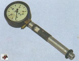 компрессометр для проверки компрессии в цилиндрах