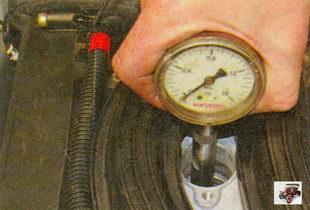 проверка компрессии в цилиндрах двигателя Лада Приора ВАЗ 2170