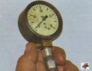 сброс показаний компрессометра