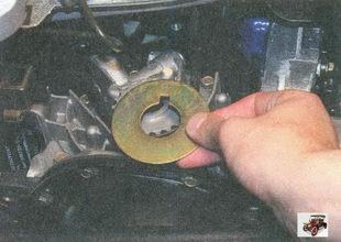 шайба шкива привода ремня газораспределительного механизма