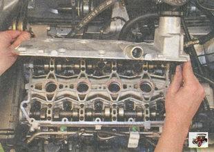 крышка головки блока цилиндров Лада Приора ВАЗ 2170