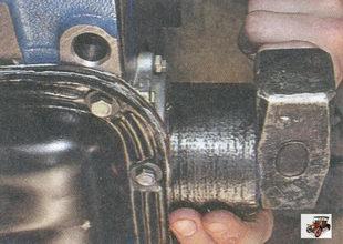 установка сальника коленвала Лада Приора ВАЗ 2170