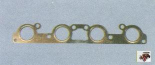 прокладка каталитического нейтрализатора (катколлектора) Лада Приора ВАЗ 2170