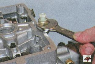 датчик сигнальной лампы аварийного падения давления масла Лада Приора ВАЗ 2170