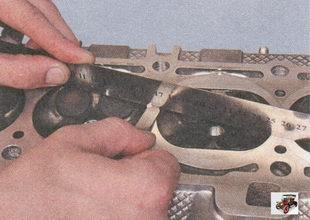 проверка плоскостности поверхности головки блока цилиндров