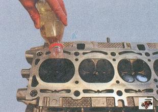 проверка герметичности клапанов Лада Приора ВАЗ 2170