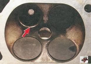 проверка состояния седел клапанов