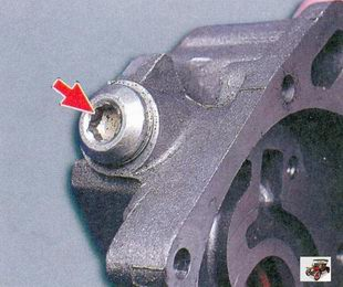 пробка редукционного клапана масляного насоса Лада Приора ВАЗ 2170