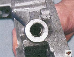 осмотр редукционного клапана масляного насоса