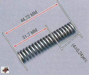 пружина редукционного клапана Лада Приора ВАЗ 2170