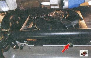 гайка крепления кожуха электровентилятора  Лада Приора ВАЗ 2170