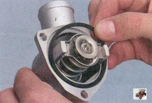 прокладка корпуса термостата Лада Приора ВАЗ 2170