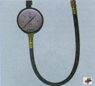 прибор для проверки давления топлива в системе питания Лада Приора ВАЗ 2170