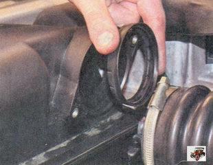 уплотнительное кольцо датчика массового расхода воздуха (ДМРВ) Лада Приора ВАЗ 2170