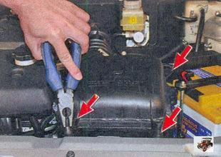 резиновые опоры воздушного фильтра