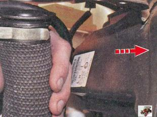 шланга воздухозаборника