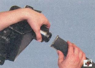 шланг воздухозаборника