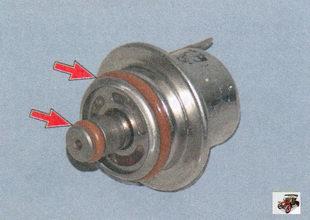 уплотнительные кольца регулятора давления топлива Лада Приора ВАЗ 2170