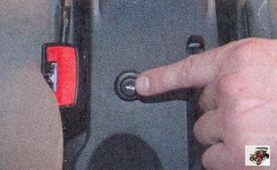 кнопка управления электроприводом замка крышки багажника лада приора ваз 2170