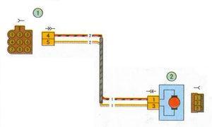 схема соединения жгута проводов задней двери автомобиль лада приора ваз 2170