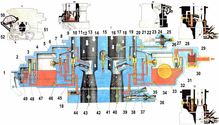Схема электрооборудования автомобиля ВАЗ-2107.  Электродвигатель стеклоочистителя, Электродвигатель очистителей фар...