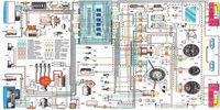 Схема электрооборудования автомобиля LADA ВАЗ 2105
