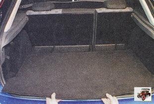 коврик пола багажника