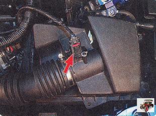комбинированный датчик массового расхода и температуры поступающего воздуха