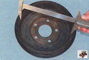 внутренний диаметр тормозного барабана должен быть не более 230,2 мм