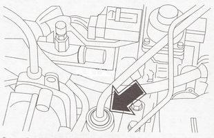 Шланг вакуумного усилителя тормозов