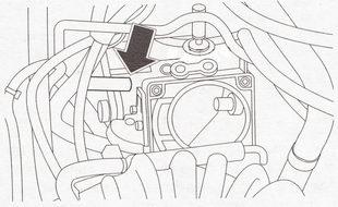 Шланг клапана продувки адсорбера