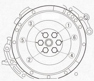 Снятие и установка маховика Форд Фокус 2